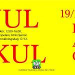 Julkul (dag) 12:00-16:00 Föranmälan senast 17/12