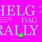 Helgrally (dag) 12:00-16:00 27/12, 30/12, 2/1 & 3/1