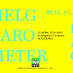 Helgbarometer (dag) 12:00-16:00 28/12, 4/1 & 5/1
