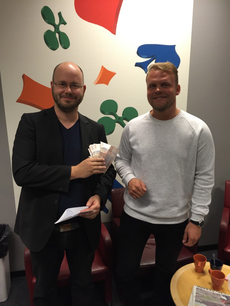 Vinnare Guld-IAF: Olle Wademark & Daniel Eriksson. Foto: Måns Berg